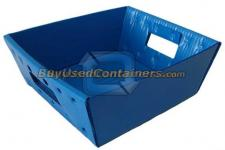 13x12x4.5 Nestable Corrgated Plastic Tray
