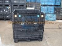 Used 45x48x48 Plastic Bulk Container