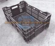 Used 23.5 x 15.5 x 9 Vented Crates - Stackable