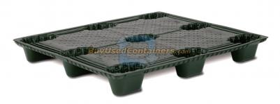 "New 40x48 Nestable Plastic Pallet - ""Seconds"""