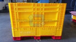 Brand New 45x47x33.3 Plastic Collapsible Bulk Container