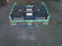 Used 40x48x25 Plastic Collapsible Bulk Containers