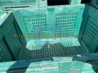 48x40x31 Green Decade Macx Ace Bins, Vented