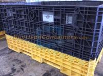 Used 64x48x34 Plastic Bulk Container