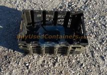 Used 23.5 x 15.5 x 9 Vented Crates - Nestable