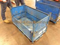 Used 46x25x32 Steel Bulk Containers