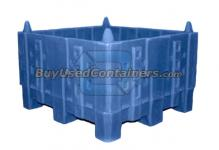 30 x 32 x 19 Non-Collapsible, Stackable Bulk Container