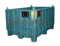 45 x 32 x 24.375  NON-COLLAPSIBLE, STACKABLE BULK CONTAINER