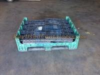 Used 40x48x34 Plastic Bulk Box