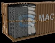 *** Sold *** Brand New Macro Shipper (Nestable) Bins