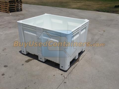 Used 40x48x31 Decade Fixed Wall Bulk Bins | Buy Used Containers