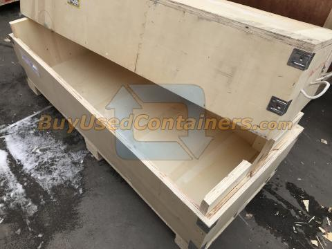 used 60x24x23 heavy duty wooden shipping crates - Wooden Shipping Crates