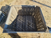 Used Wooden Fixed Wall Bulk Containers
